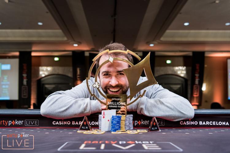 Pascal Lefrancois vence partypoker LIVE MILLIONS Grand Final Barcelona/CardPlayer.com.br