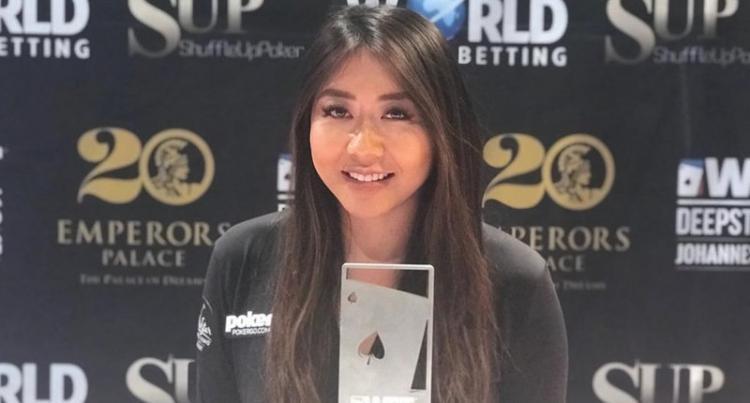 Maria Ho conquista o título do WPT DeepStacks Joanesburgo/CardPlayer.com.br