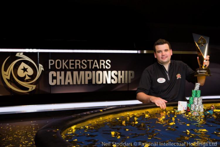 Christian Harder se torna o primeiro campeão da história do PokerStars Championship/CardPlayer.com.br
