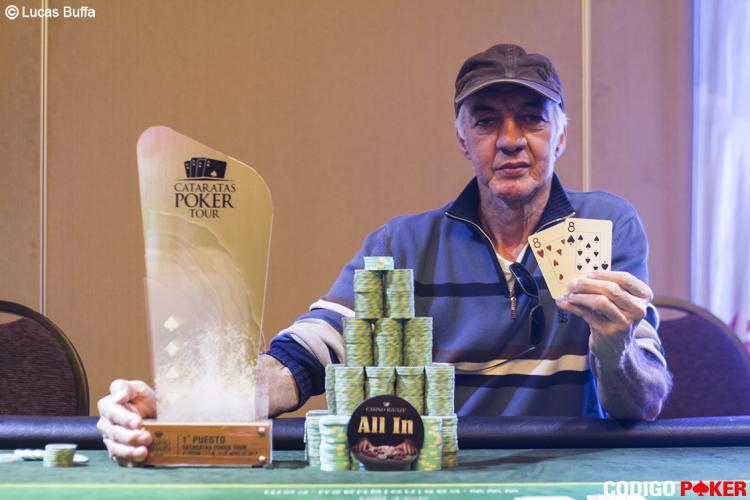 Julio Palma vence a quarta etapa do Cataratas Poker Tour/CardPlayer.com.br