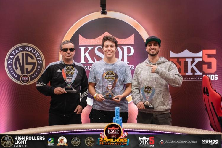Nello Rodolfo é campeão do High Roller Light Sun Dreams do KSOP São Paulo/CardPlayer.com.br