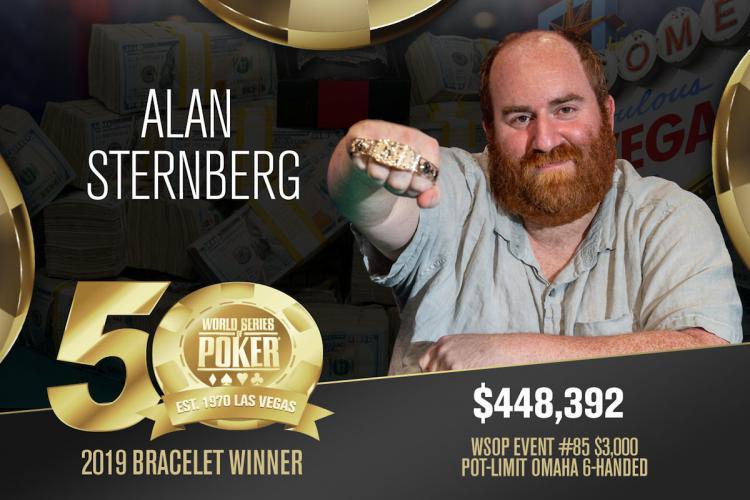 Alan Sternberg conquista o título do Evento 85 da WSOP/CardPlayer.com.br