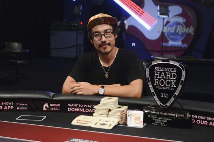 Martin Kozlov crava o Seminole Hard Rock Poker Open/CardPlayer.com.br