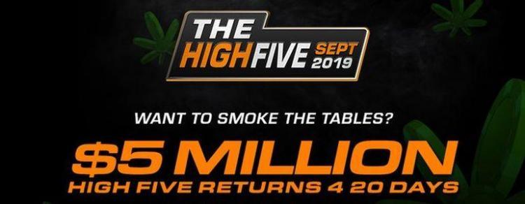 Brasucas invadem decisão do Main Event da série The High Five/CardPlayer.com.br