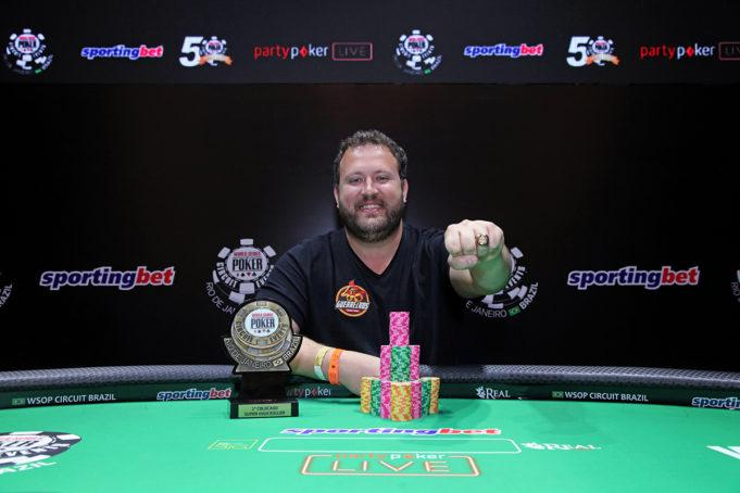 Rodrigo Semeghini crava Super High Roller do WSOP Circuit Brasil/CardPlayer.com.br