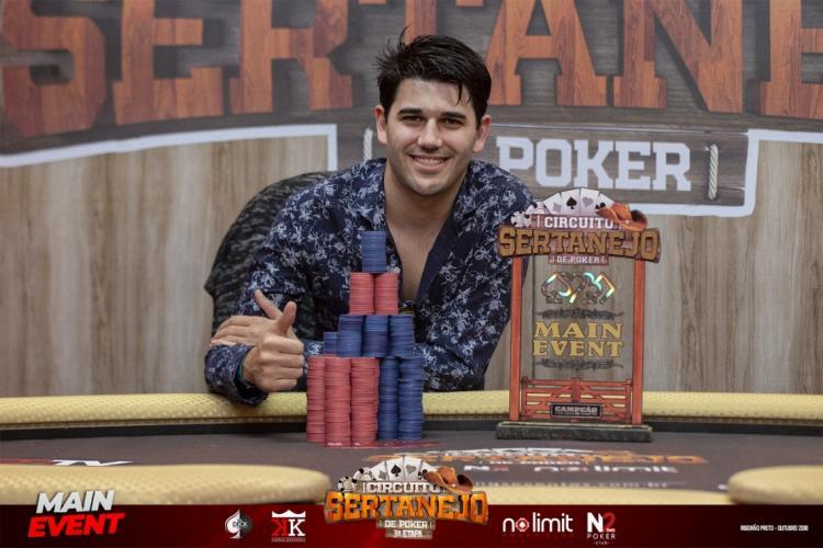 Emanuel Fernandez vence etapa de Ribeirão de Preto do Circuito Sertanejo de Poker/CardPlayer.com.br