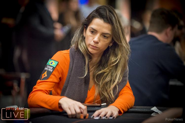 Dayane Kotoviezy leva o Brasil ao Dia 4 do Main Event do Caribbean Poker Party/CardPlayer.com.br