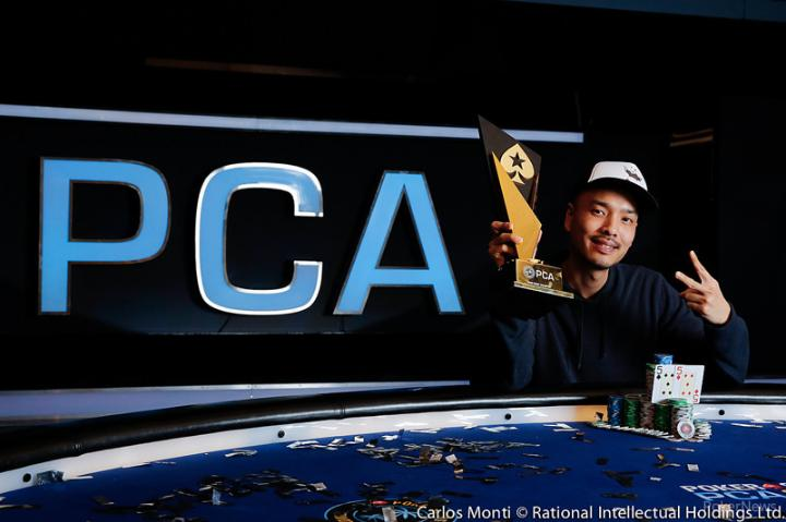 "David ""Chino"" Rheem conquista o título do Main Event do PCA/CardPlayer.com.br"