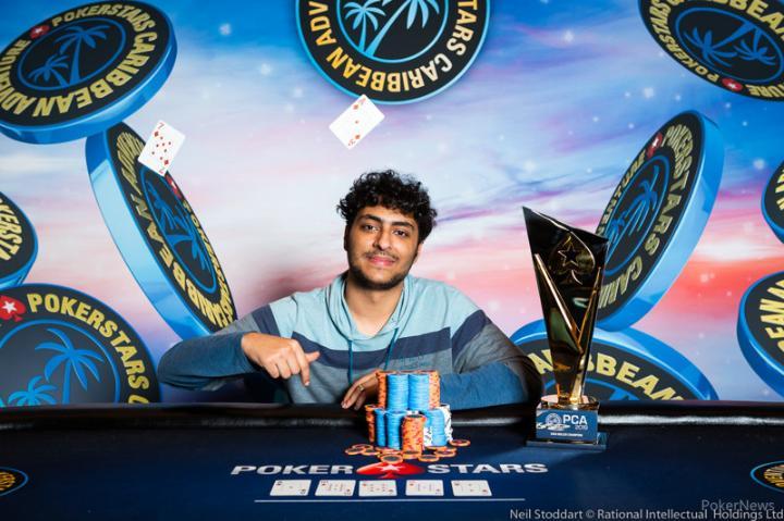 Martin Zamani é campeão do US$ 25.000 High Roller do PCA/CardPlayer.com.br