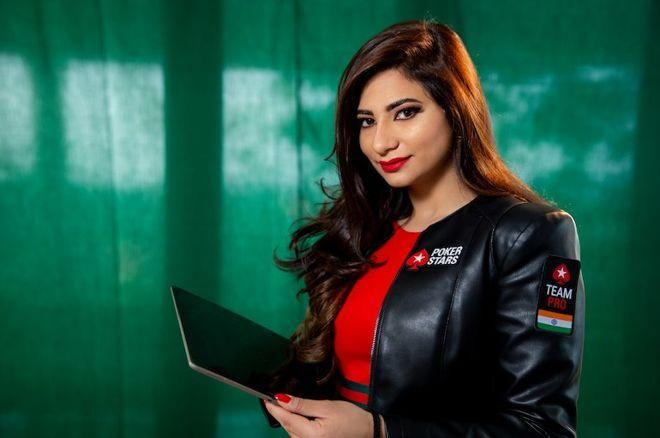 Muskan Sethi  é a nova integrante do Team PokerStars Pro /CardPlayer.com.br
