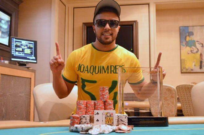 Rafael Reis vence torneio do cassino Borgata e fatura US$ 216 mil/CardPlayer.com.br