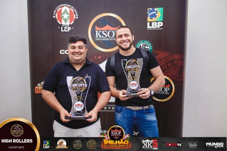 Alen Fillipi é campeão do High Roller Sun Dreams do KSOP Natal/CardPlayer.com.br