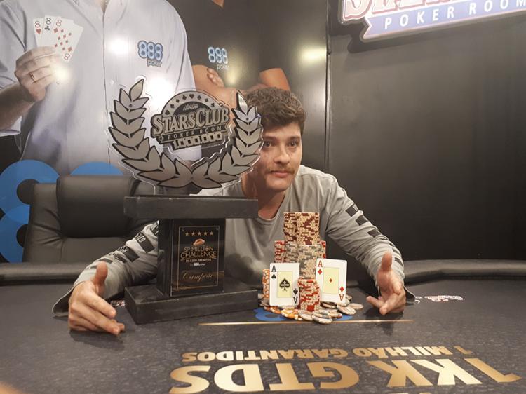 Luiz Tamalu leva a melhor no SP Million Challenge/CardPlayer.com.br