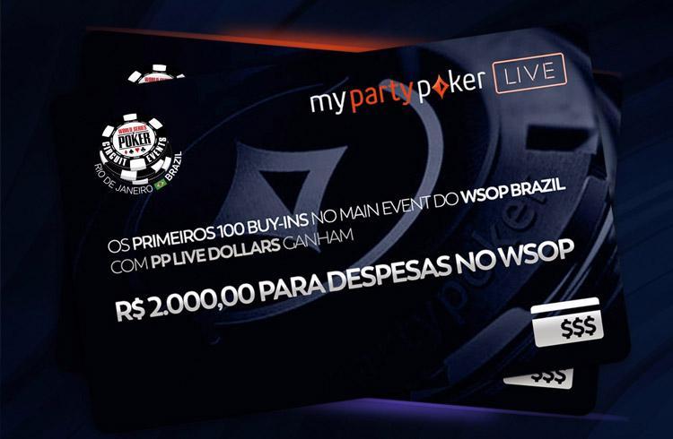 partypoker dá R$ 2.000 em despesas para WSOP Circuit Brazil do Rio de Janeiro/CardPlayer.com.br