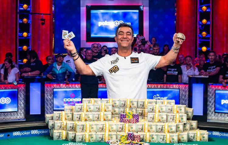 Hossein Ensan vence Main Event da WSOP e fatura US$ 10 milhões/CardPlayer.com.br