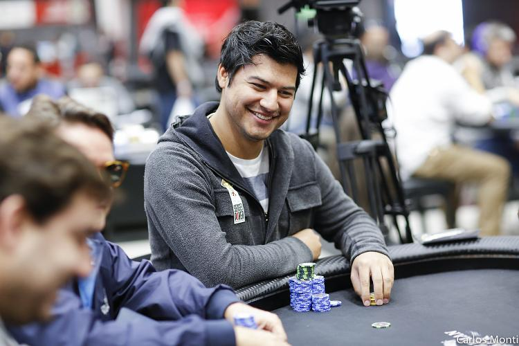 "Felipe ""lipreTTT"" Costa lidera os brasucas no Dia 1A do PokerStars National Barcelona/CardPlayer.com.br"