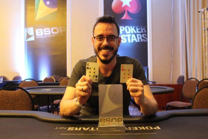 Cássio Kiles vence primeiro high roller do BSOP Iguazu/CardPlayer.com.br