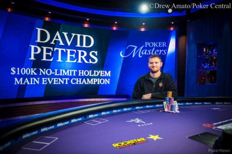 David Peters vence Main Event do Poker Masters 2018/CardPlayer.com.br