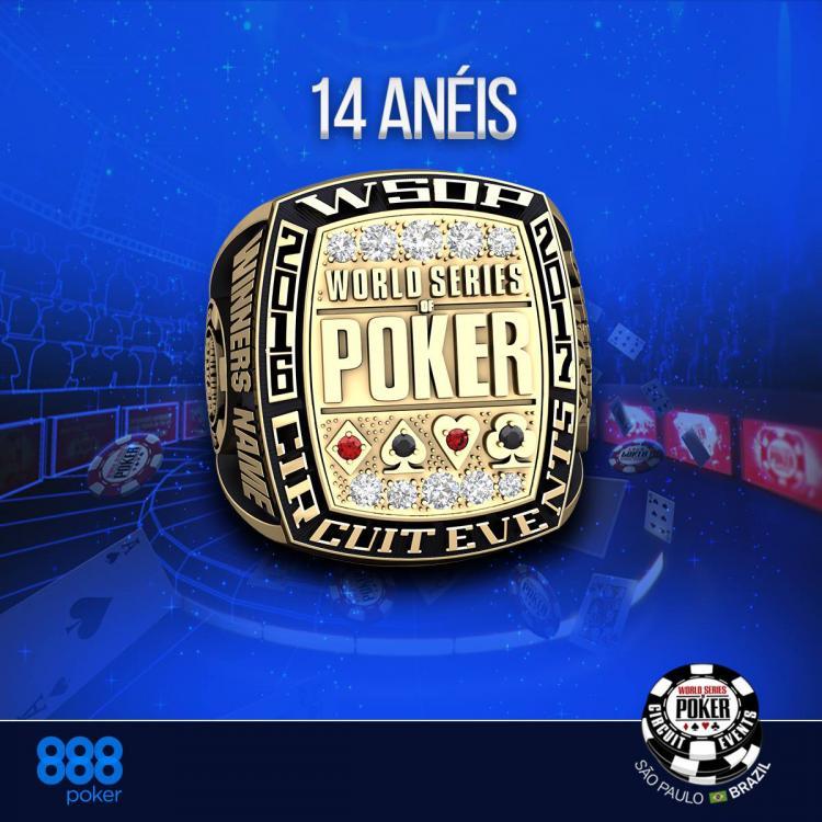 Conheça o design dos anéis do WSOP Circuit Brasil/CardPlayer.com.br