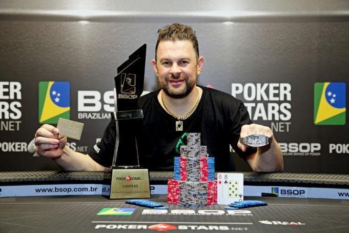Alcioni Pollermann conquista o título do BSOP Florianópolis /CardPlayer.com.br