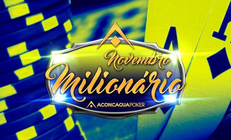 Brasileiros fazem dobradinha no Novembro Milionário do Aconcagua Poker/CardPlayer.com.br