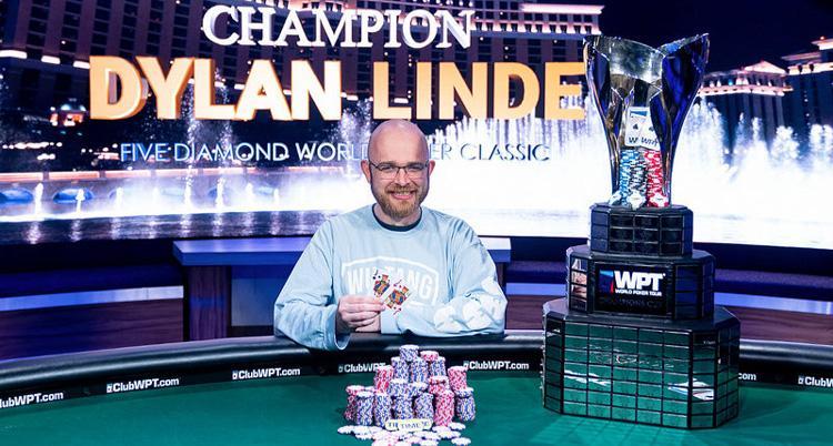 "Dylan ""ImaLucSac"" Linde vence WPT Five Diamond/CardPlayer.com.br"
