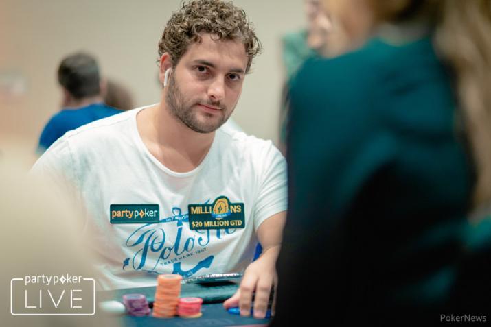 João Simão é vice do $3.150 Super Sunday High Roller do partypoker/CardPlayer.com.br