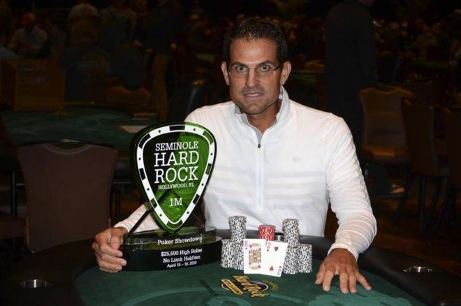 Brandon Adams é campeão do High Roller do Seminole Hard Rock/CardPlayer.com.br