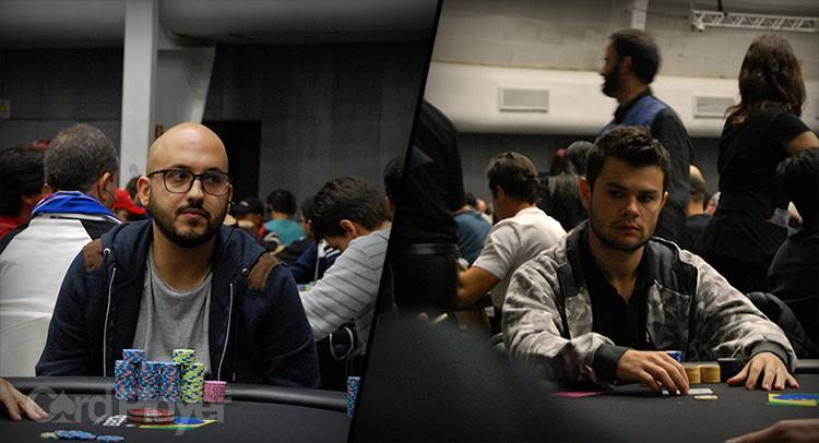 "Diego ""Mr.Bittar"" Valadares e Gustavo ""22ehnutzz"" Mastelotto sobem ao pódio do $530 Bounty Builder High Roller/CardPlayer.com.br"