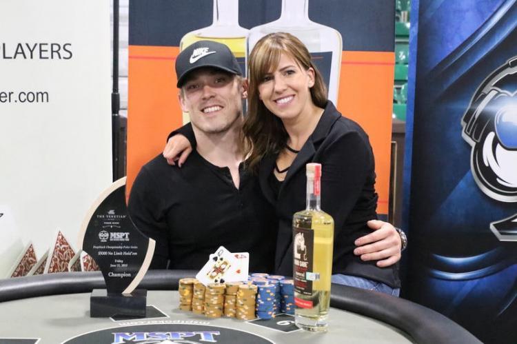 Casal Alex Foxen e Kristen Bicknell faz dobradinha no MSPT do Venetian/CardPlayer.com.br