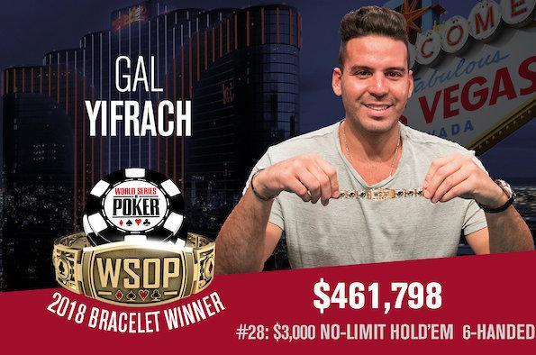 Gal Yifrach leva a melhor no Evento 28 da WSOP/CardPlayer.com.br