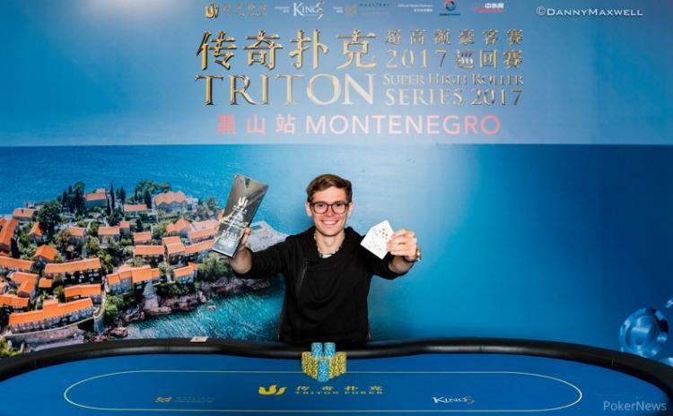 Fedor Holz vence na Triton Super High Rollers Series Montenegro/CardPlayer.com.br