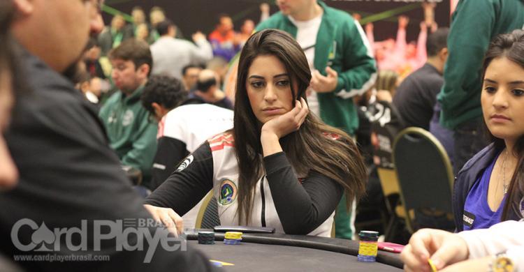 Vivian Saliba puxa a fila brasileira no Dia 1B do PokerStars National Barcelona/CardPlayer.com.br