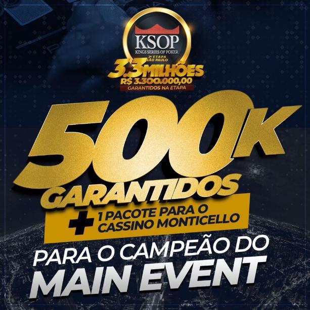 Campeão do KSOP São Paulo vai faturar pacote completo para cassino no Chile/CardPlayer.com.br