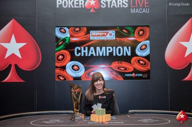 Kristen Bicknell conquista título do High Roller do APPT/CardPlayer.com.br