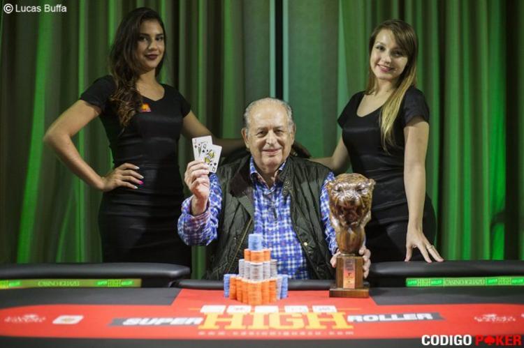 Brasileiros forram pesado na FT do Super High Roller do Casino Iguazú/CardPlayer.com.br