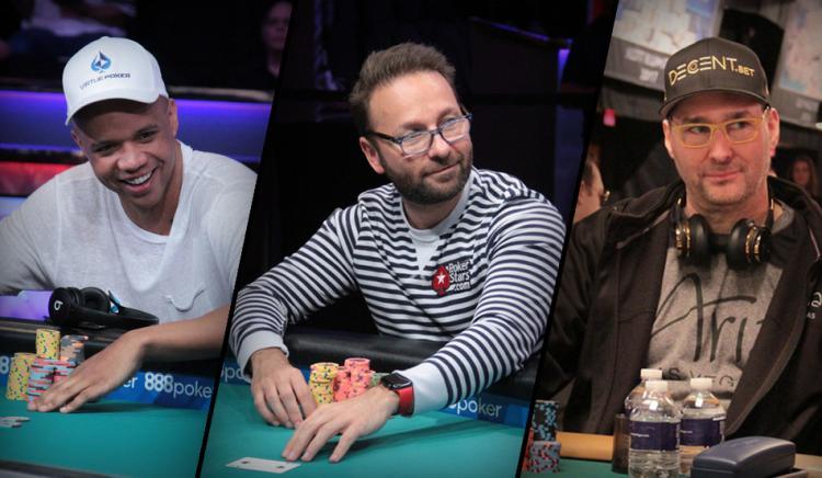 Phil Ivey, Daniel Negeanu e Phil Hellmuth estão entre os 30 pré-inscritos do Big One/CardPlayer.com.br