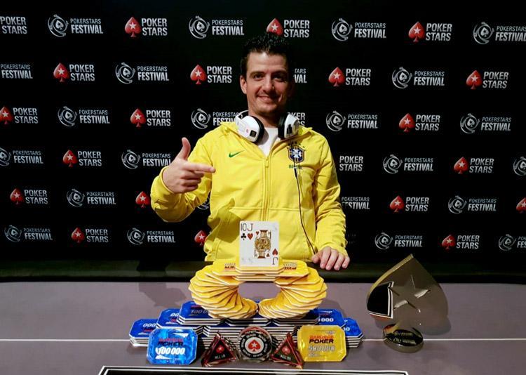 Mineiro Fernando Araújo vence torneio no PokerStars Festival da França e leva R$ 115 mil/CardPlayer.com.br