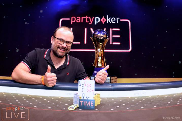 Lucas Zaskodny crava Main Event do MILLIONS Europa/CardPlayer.com.br