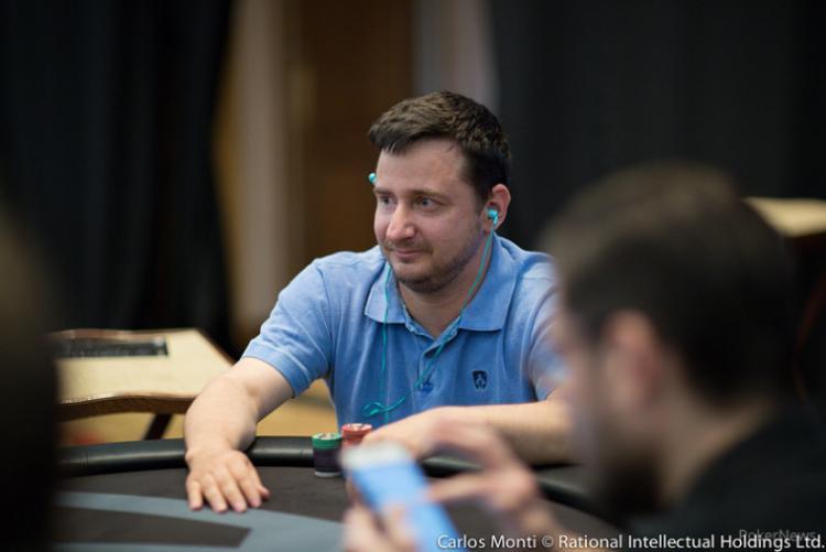 Halysson Sala puxa a fila no Dia 1A do PokerStars Festival Uruguai/CardPlayer.com.br