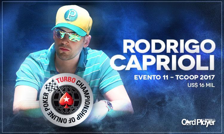 Rodrigo Zidane conquista o título do Evento 11 do TCOOP 2017/CardPlayer.com.br