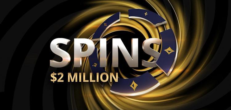 SPINS do partypoker vão distribuir prêmio de US$ 2 milhões /CardPlayer.com.br