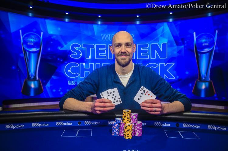 Stephen Chidwick volta a vencer no U.S. Poker Open 2019/CardPlayer.com.br