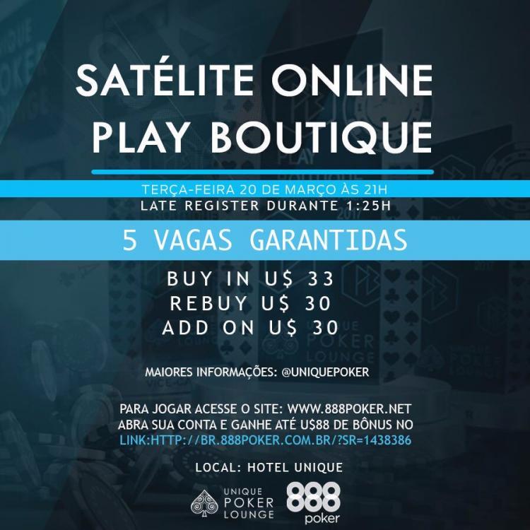 888poker realiza satélite para segunda etapa do Circuito Paulista Play Boutique/CardPlayer.com.br