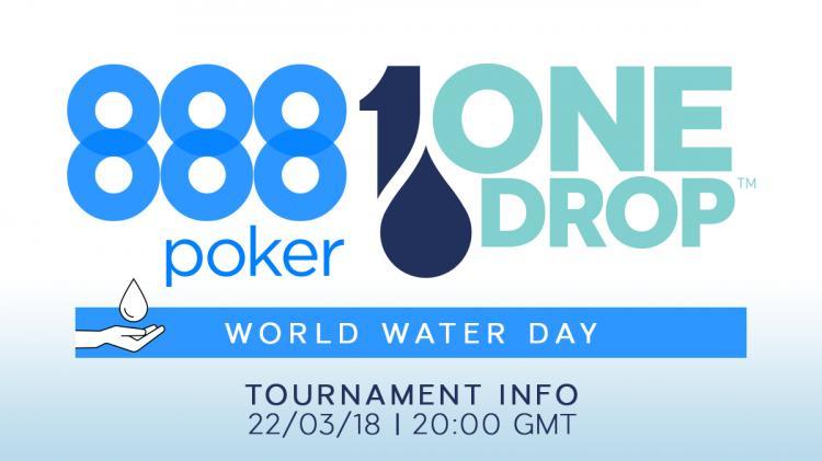 888poker e One Drop vão realizar torneio beneficente/CardPlayer.com.br