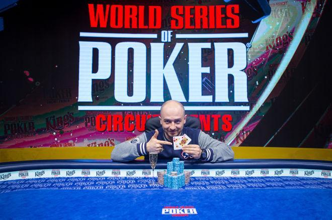 Amar Begovic crava WSOP Circuit Rozvadov/CardPlayer.com.br