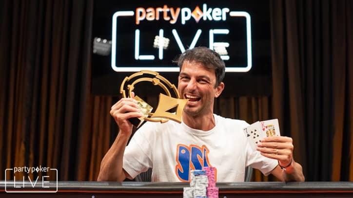 Ênio Bozzano é campeão do Rio Open do partypoker MILLIONS Live/CardPlayer.com.br