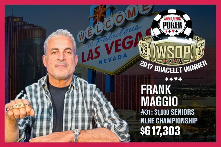 Frank Maggio vence o maior Seniors Championship da história da WSOP/CardPlayer.com.br