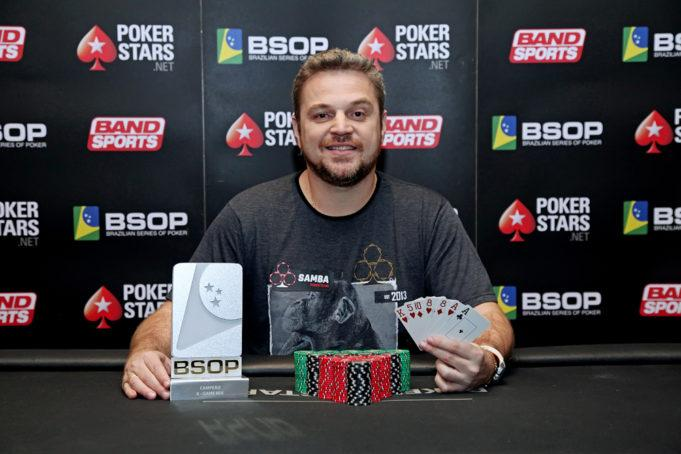 Rodrigo Garrido volta a cravar 8-Game Mix do BSOP/CardPlayer.com.br