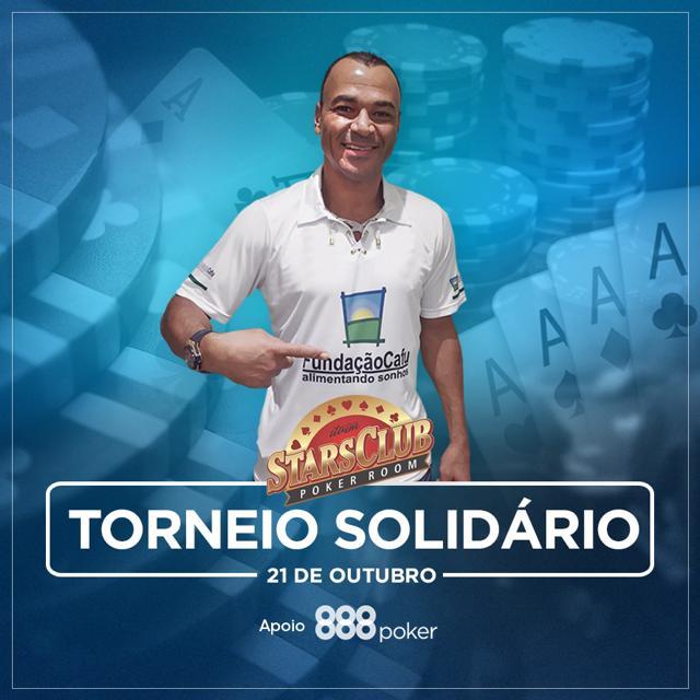 Cafu promove torneio solidário com premiação especial e apoio do 888poker/CardPlayer.com.br
